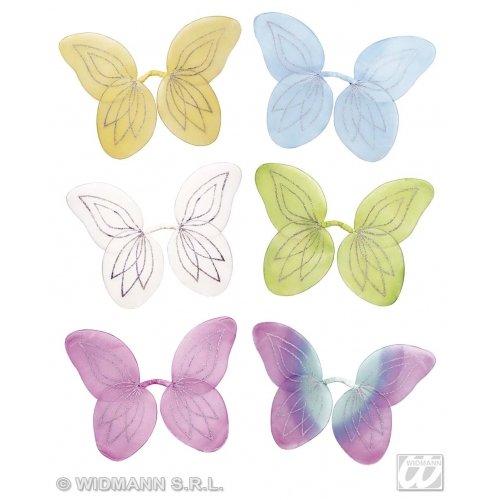 Unbekannt Aptafêtes AC0015 Fee-Flügel, Glitzer, Größe 50x 25cm. (Fee Erwachsene Weiße Flügel)