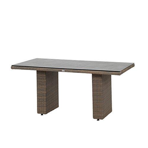 Siena Garden Dining Tisch Teramo, 160x90x74cm, Gestell: Aluminium, pulverbeschichtet, Fläche:...