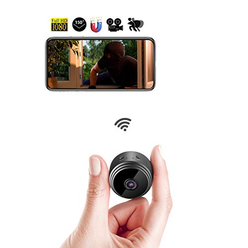 Eternal Eye WiFi mini telecamera nascosta spia wireless telecamera IP HD 1080p