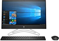 HP 22-C0028IN All-in-One Desktop (8th Gen Intel Core i3-8100u/4GB/1TB/Windows 10 Home/Integrated Graphics), Black