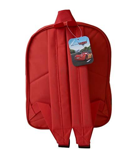 Achat en ligne Sac à dos rouge Cars par Disney pour enfants en maternelle