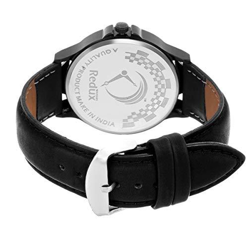 REDUX Analogue Black Dial Men's Watch (Rws0106)