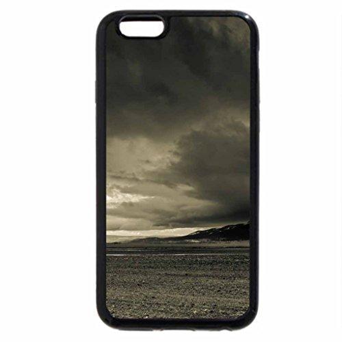 iPhone 6S Plus Case, iPhone 6 Plus Case (Black & White) - Ominous