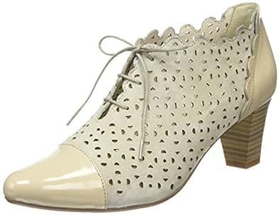 gerry weber shoes laura 07 damen kurzschaft stiefel grau. Black Bedroom Furniture Sets. Home Design Ideas