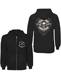 Avenged Sevenfold hooded zip - Flourish Logo