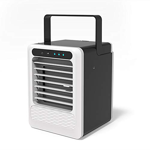 FYH-SUM Raffreddatore d'Aria Portatile, Ventilatore Aria condizionata, Raffreddatore d'Aria USB Mini purificatore d'Aria Umidificatore Ventola d'Aria Ventola di Raffreddamento, per Home Office