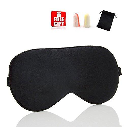 Antifaz Para Dormir - Suave Venda Para Ojos Para Viajar 100% Anti-Máscara Del Sueño De Seda...