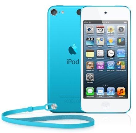 Apple iPod touch 64GB Lecteur MP4 64Go Bleu - Lecteurs et enregistreurs MP3/MP4 (Lecteur MP4, 64 Go, LCD, Appareil photo intégré, 88 g, Bleu)