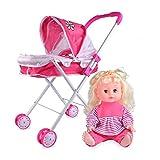 Puppenwagen Spielzeug Puppenbuggy Puppenwagen Trendy Spielzeugwagen Kinder Puppenbuggy Junge...