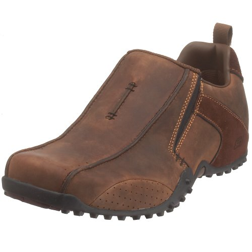 Skechers , Mens Trainer, Dark Brown, 10 UK (45 EU)