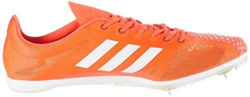 adidas Adizero Ambition 4, Scarpe Running Donna Rosso (Solar Redftwr Whitecore Black)