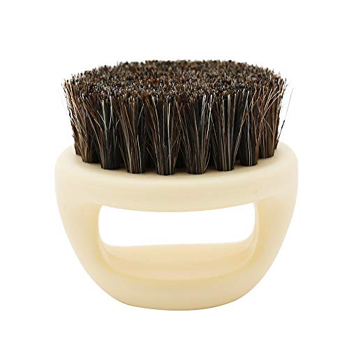 Kit De Pinceau Maquillage Professionnelhommes Rasage Brosse Rasage De CRIN PoignéE en Bois Razor Barber Tool Pinceau à LèVre avec Sac Nois