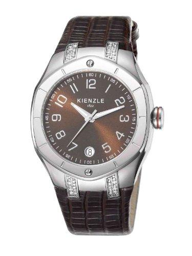 Kienzle - K5022016031-00057 - Montre Femme - Quartz Analogique - Bracelet Cuir Marron
