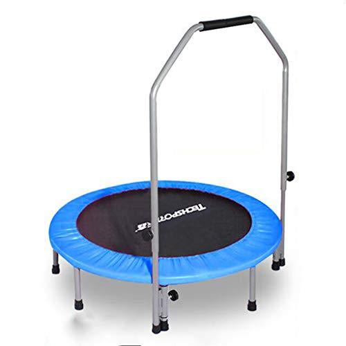 Indoor Trampolines Erwachsene Fitness Trampolin Indoor Home Jumping Training Gewichtsverlust Griff Trampolin