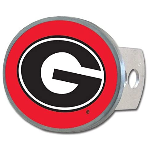NCAA Georgia Bulldogs Oval Hitch Cover by Siskiyou