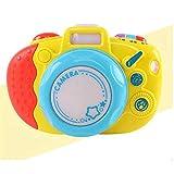 Faironly Kinder Spielkamera, lustige Simulationskamera mit Sound und Licht, Lernspielzeug für Kinder, einzeln verpackt