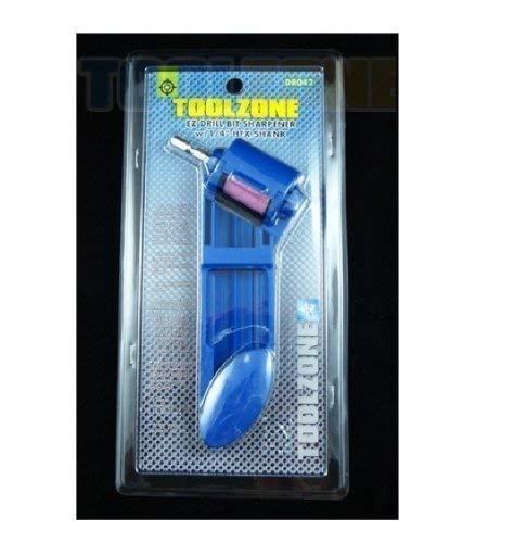 "Toolzone EZ afilador de brocas con vástago hexagonal de 1/4"""