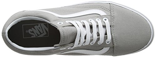 Vans Ua Old Skool, Sneakers Basses Femme Gris (Drizzle/true White)