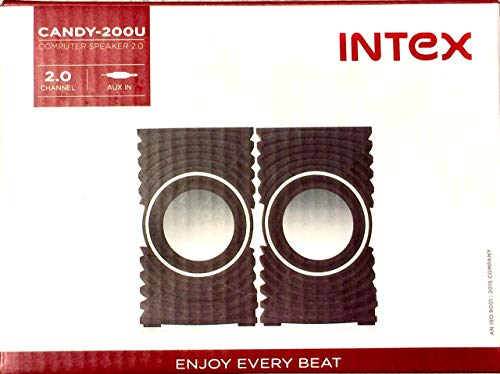 Intex Candy-200U Computer and Laptop speaker2.0