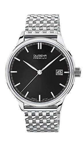Dugena Herren-Armbanduhr Sigma - Traditional Classic Analog Quarz Edelstahl 7090251