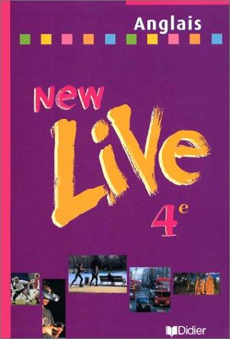 New Live : Anglais, 4ème