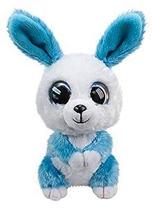 LUMO STARS Bunny Ice Animales de Juguete Felpa Azul, Blanco - Juguetes de Peluche (Animales de Juguete, Azul, Blanco, Felpa, 3 año(s), Conejo, Niño/niña)