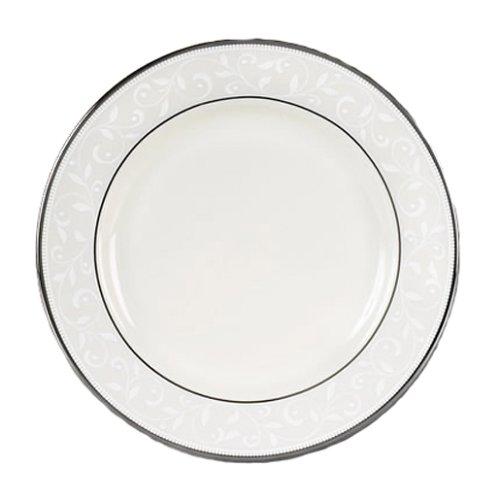 Lenox Pearl Innocence Tafelservice aus feinem Porzellan, platiniert, 5-teilig Lenox, Pearl Innocence, feines Service Butter Plate elfenbeinfarben Lenox Pearl