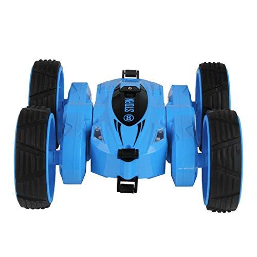 SUNFANY Motorradmodell Fernbedienung Spielzeug,1:18 Kinder 360 ° Drehen Stunt Car RC 4Wd High-Speed-Fernbedienung Offroad-Spielzeug - Rosa
