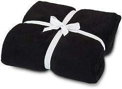 All For Color Black Cozy Fleece