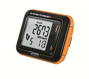 Oregon Scientific Schrittzähler 3d, schwarz/orange, PE 200
