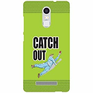 Xiaomi Redmi Note 3 Back Cover - Catch Out Desiner Cases
