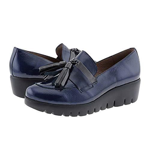 Zapatos cuña Piel Charol C-33174 Wonders Talla: 37