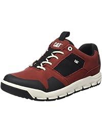 Cat Footwear - Giles, Scarpe bracciale da uomo, Marrone (MENS DARK BROWN), 43