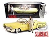 1963 Cadillac Series 62 From Scarface 1/18 Yellow