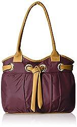 Meridian Women's Handbag (Purple,Mrb-071)