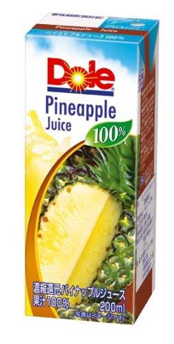 Dole ananas 100% 200mlX18 questo
