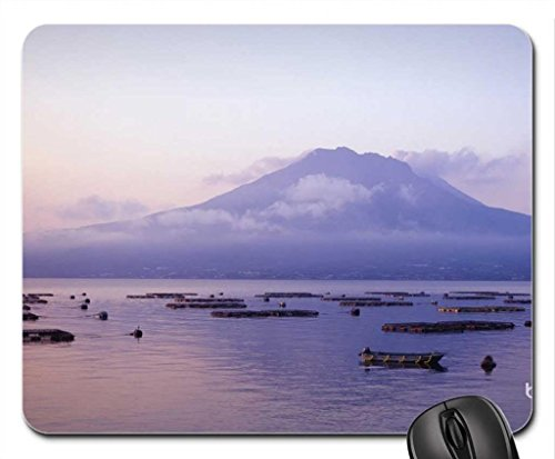 Misty Mountain Mouse Pad, Mousepad (Mountains Mouse Pad) (Pearl Misty)