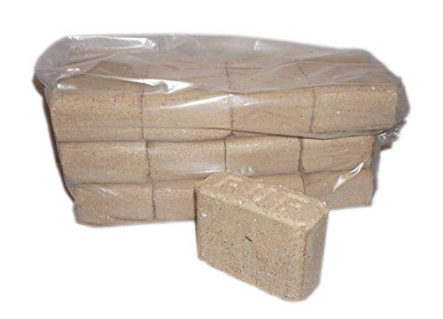 RUF briquetas de madera 10kg Paquete buchenb Rickett 100% madera de haya pura haya