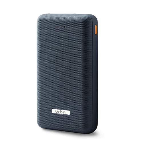 URBN 20000 mAh Li-Polymer Power Bank with 2.1 Amp Fast Charge and Ultra Compact Slim Body with BIS Certification - (Blue)