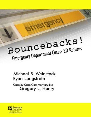 Bouncebacks!: Emergency Department Cases: ED Returns