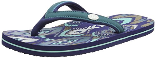 Animal Swish Slim Aop, Sandali Donna Blu (Sea Blue)