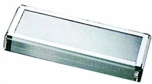 Ciseaux étui en aluminium avec fenêtre Large