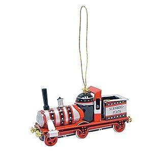 Alexander Taron Importer AT12 - Collectible Tin Ornament - Red Train - 1