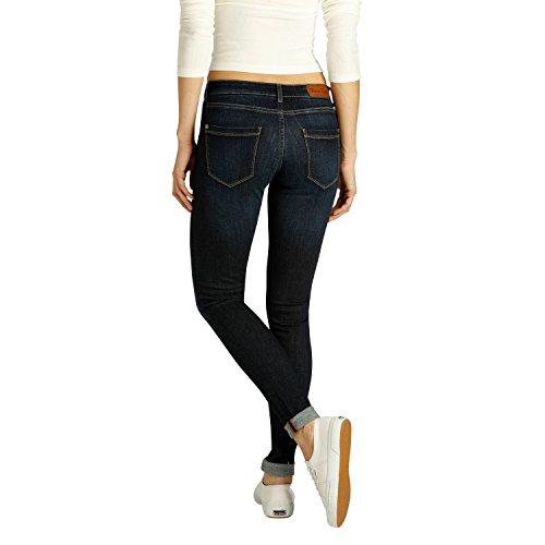 Fritzi aus Preußen Damen Jeans Downey Skinny Basic Dunkel Blau