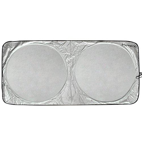 Preisvergleich Produktbild Auto Sonnenschutz Sonnenblende Frontscheibe Windschutzscheibe UV-Schutz Sonnenschirm (Schwarz-160*80)