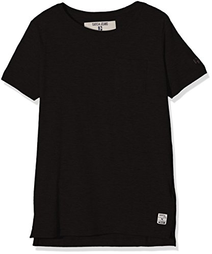 Garcia Kids Jungen T-Shirt Z3018, Schwarz (Black 60), 140 (Herstellergröße: 140/146) (Shirt Schlichtes Schwarzes)