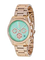 Reloj Marea Mujer B41155/12 Metal Rosado Multifunción Verde Agua de Marea Relojes