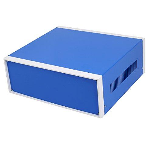 sourcing map 310mm x 285mm x 115mm Boîtier raccordement Projet électronique boîte Bleu