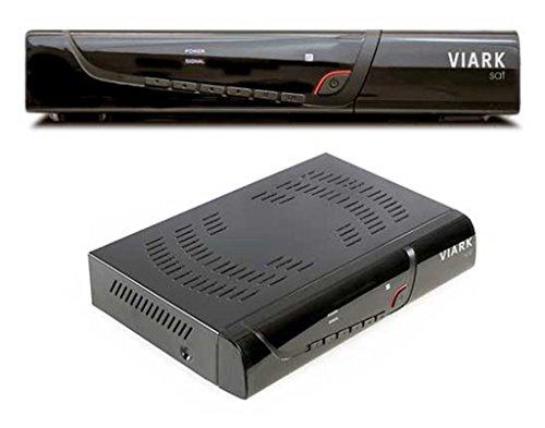 vuga viark Sat Full HDTV H.265Digital Receptor de satélite Incluye WLAN Stick (IPTV, aplicaciones, DVB-S2, HDMI, SCART, LAN, USB 2.0, Full HD 1080p), color negro