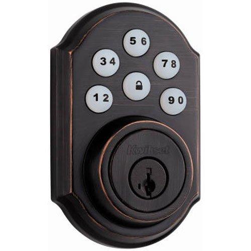 Preisvergleich Produktbild Kwikset SmartCode Electronic Riegel mit Smart Schlüssel,  99090-019